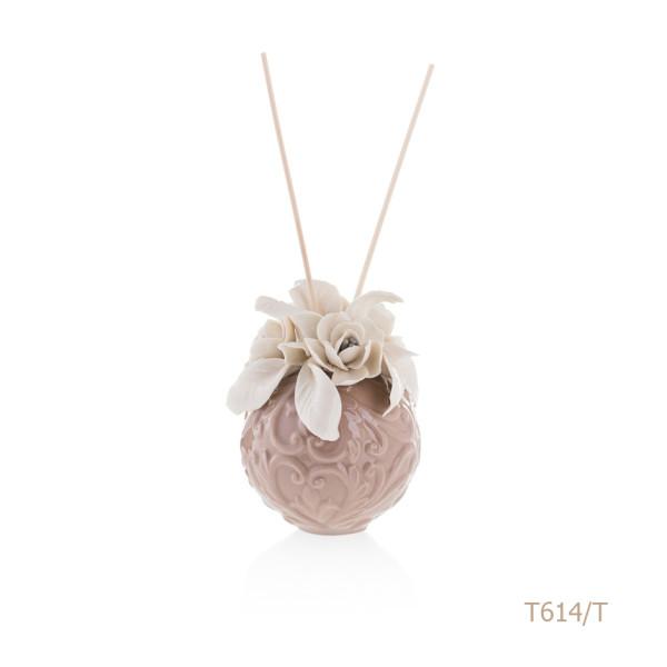 T614-T Mongolfiera Sharon Italia - Profumatori per ambienti, profumi per ambienti, diffusori per ambienti, Porcellane capodimonte, porcellane di capodimonte-34