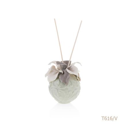 T616-V Mongolfiera Sharon Italia - Profumatori per ambienti, profumi per ambienti, diffusori per ambienti, Porcellane capodimonte, porcellane di capodimonte-42