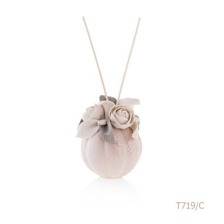 T719-C Mongolfiera Sharon Italia - Profumatori per ambienti, profumi per ambienti, diffusori per ambienti, Porcellane capodimonte, porcellane di capodimonte-36