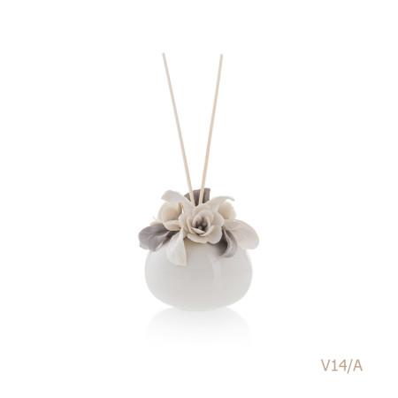 V14-A Mongolfiera Sharon Italia - Profumatori per ambienti, profumi per ambienti, diffusori per ambienti, Porcellane capodimonte, porcellane di capodimonte-23