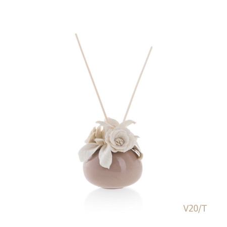 V20-T Mongolfiera Sharon Italia - Profumatori per ambienti, profumi per ambienti, diffusori per ambienti, Porcellane capodimonte, porcellane di capodimonte-8