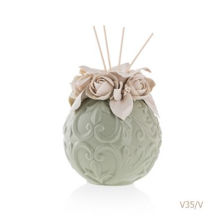 V35-V Mongolfiera Sharon Italia - Profumatori per ambienti, profumi per ambienti, diffusori per ambienti, Porcellane capodimonte, porcellane di capodimonte-6