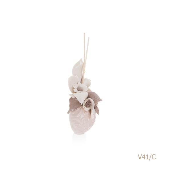 V41-C Mongolfiera Sharon Italia - Profumatori per ambienti, profumi per ambienti, diffusori per ambienti, Porcellane capodimonte, porcellane di capodimonte-44