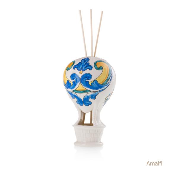 Amalfi Mongolfiera Sharon Italia - Profumatori per ambienti, profumi per ambienti, diffusori per ambienti, sharon bomboniere, bomboniere artigianali, diffusori ambiente
