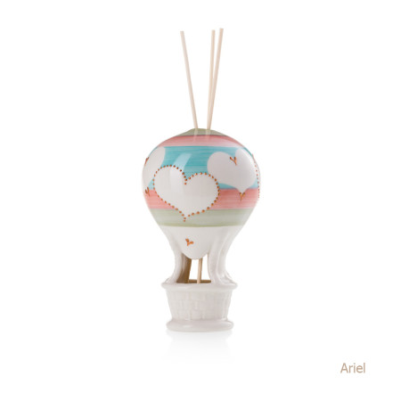 Ariel Mongolfiera Sharon Italia - Profumatori per ambienti, profumi per ambienti, diffusori per ambienti, sharon bomboniere, bomboniere artigianali, diffusori ambiente