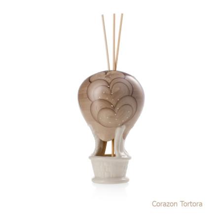 Corazon Tortora Mongolfiera Sharon Italia - Profumatori per ambienti, profumi per ambienti, diffusori per ambienti, sharon bomboniere, bomboniere artigianali