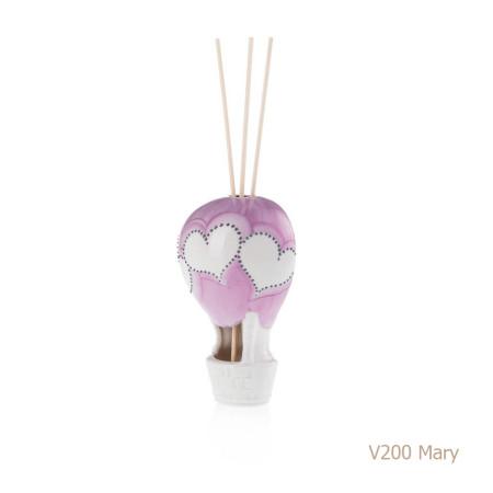 Mary Mongolfiera Sharon Italia - Profumatori per ambienti, profumi per ambienti, diffusori per ambienti, sharon bomboniere, bomboniere artigianali, diffusori ambiente-1