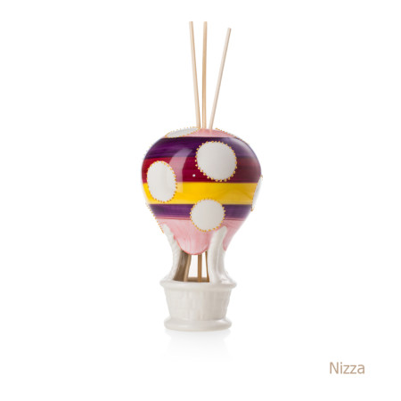 Nizza Mongolfiera Sharon Italia - Profumatori per ambienti, profumi per ambienti, diffusori per ambienti, sharon bomboniere, bomboniere artigianali