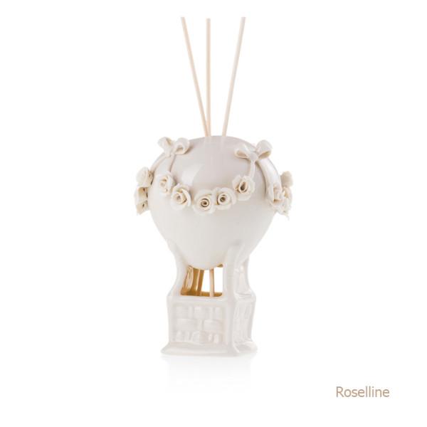 Roselline Mongolfiera Sharon Italia - Profumatori per ambienti, profumi per ambienti, diffusori per ambienti, sharon bomboniere, bomboniere artigianali, diffusori ambiente-33