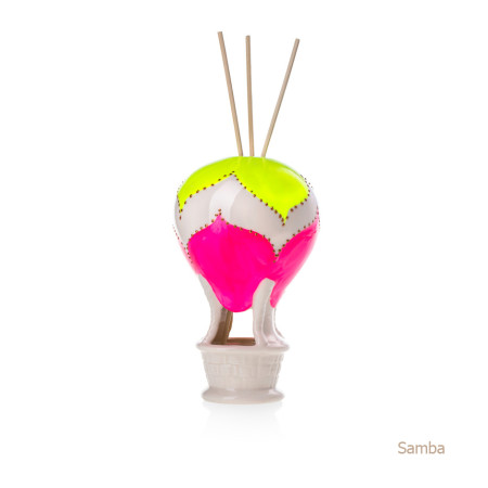 Samba Mongolfiera Sharon Italia - Profumatori per ambienti, profumi per ambienti, diffusori per ambienti, sharon bomboniere, bomboniere artigianali, diffusori ambiente-3