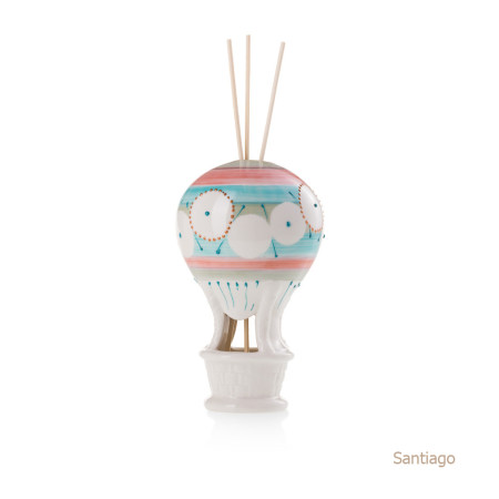 Santiago Mongolfiera Sharon Italia - Profumatori per ambienti, profumi per ambienti, diffusori per ambienti, sharon bomboniere, bomboniere artigianali, diffusori ambiente-32