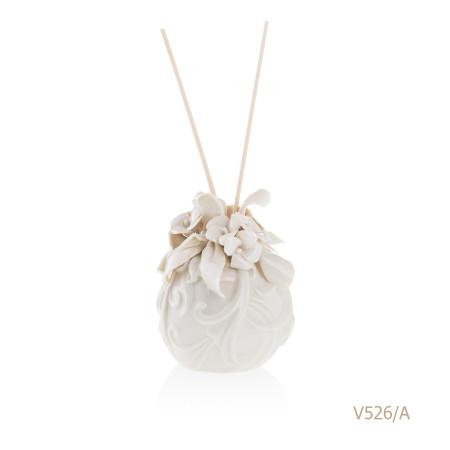 V526-A Mongolfiera Sharon Italia - Profumatori per ambienti, profumi per ambienti, diffusori per ambienti, Porcellane capodimonte, porcellane di capodimonte-12