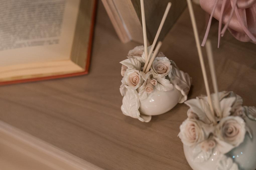 Sharon italia - Porcellana capodimonte - profumatori ambiente, porcellana lucida