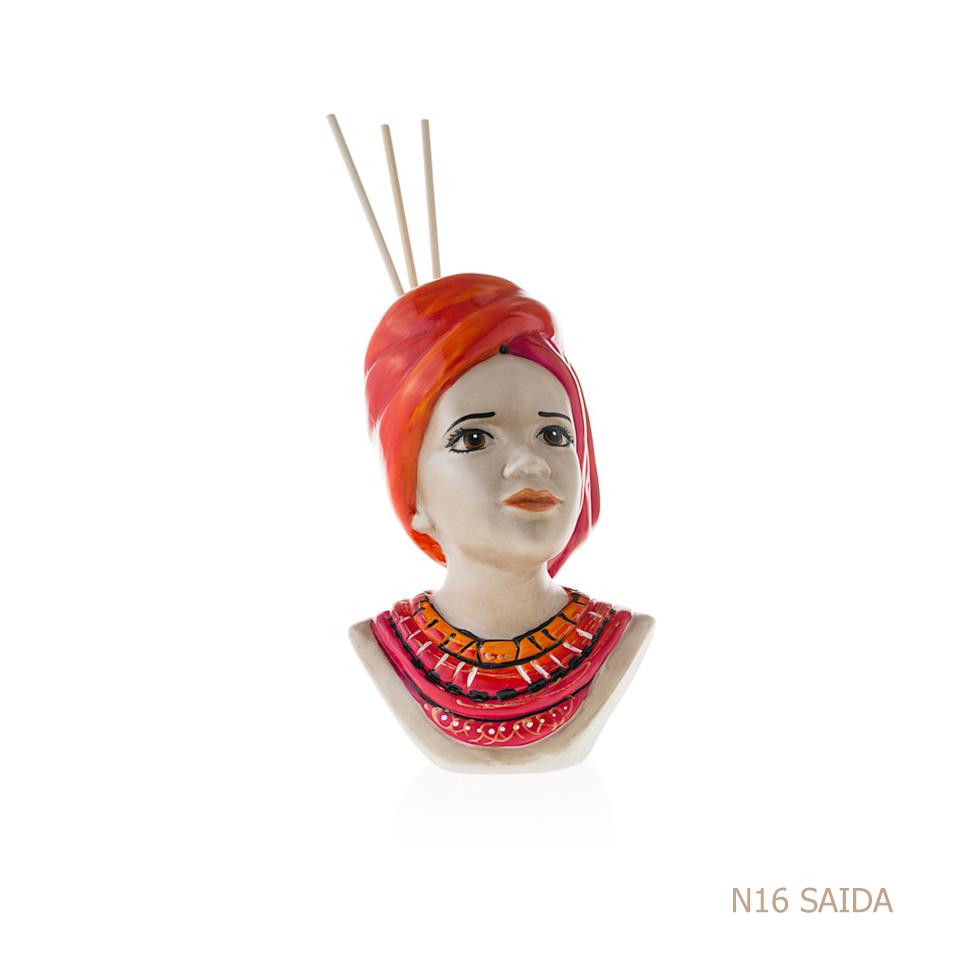 Sharon italia - Porcellana decorata - Profumatori in porcellana - Portacandele in porcellana-100