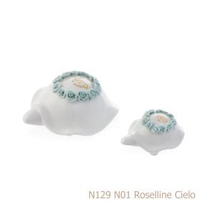 Sharon italia - Porcellana decorata - Profumatori in porcellana - Portacandele in porcellana-85