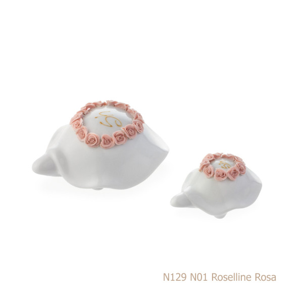 Sharon italia - Porcellana decorata - Profumatori in porcellana - Portacandele in porcellana-862