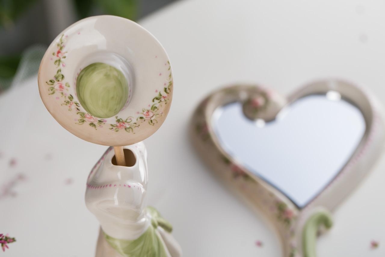 Dame Sharon Italia - Porcellana Decorata - Dame in Porcellana