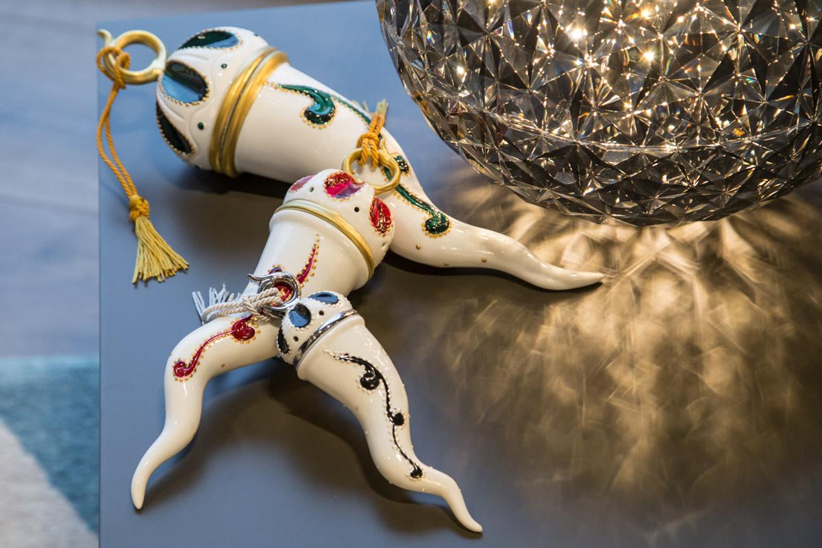 Sharon Italia - Corni - Corni Portafortuna - Porcellana Decorata a Mano