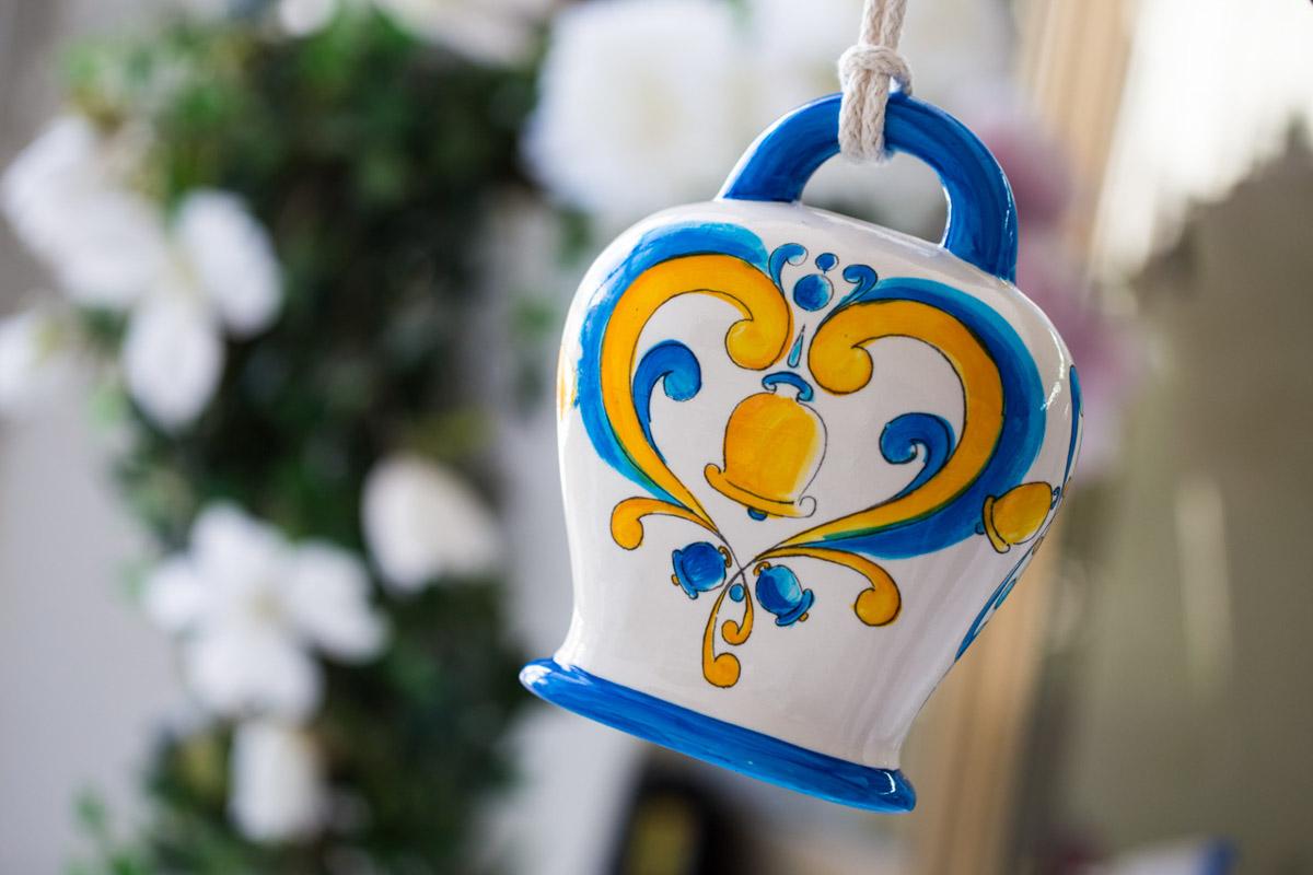 Sharon Italia - Le Campane - Profumatori Ambiente - Porcellana Decorata a Mano