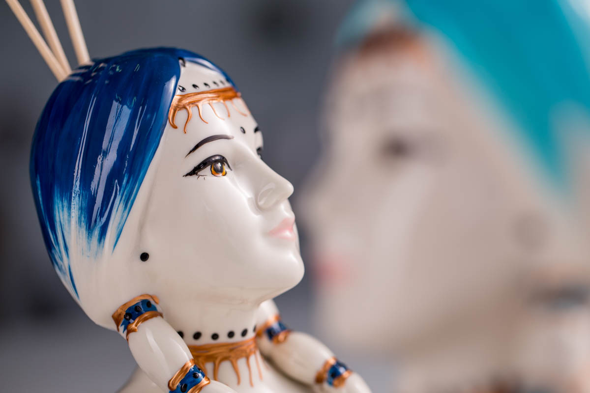 Sharon Italia - Tipì - Profumatori Ambiente - Porcellana Decorata a Mano-3