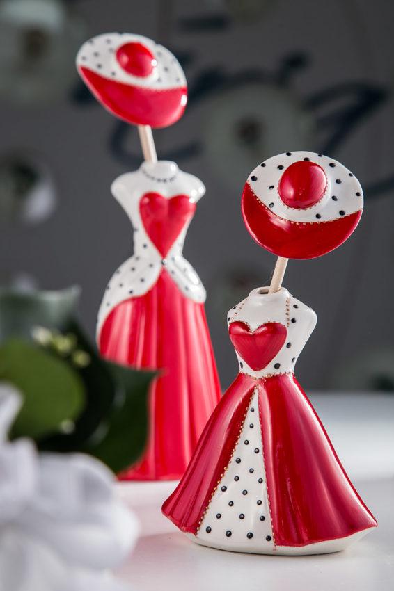 Sharon Itala - Le Dame - Profumatori ambiente in porcellana decorata a mano