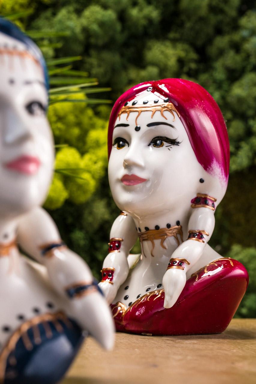 Sharon Italia - Tipì - Profumatori Ambiente - Porcellana Decorata a Mano-21