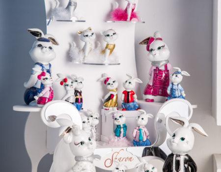 Sharon Italia - Animali in porcellana - Porcellana decorata a mano-4