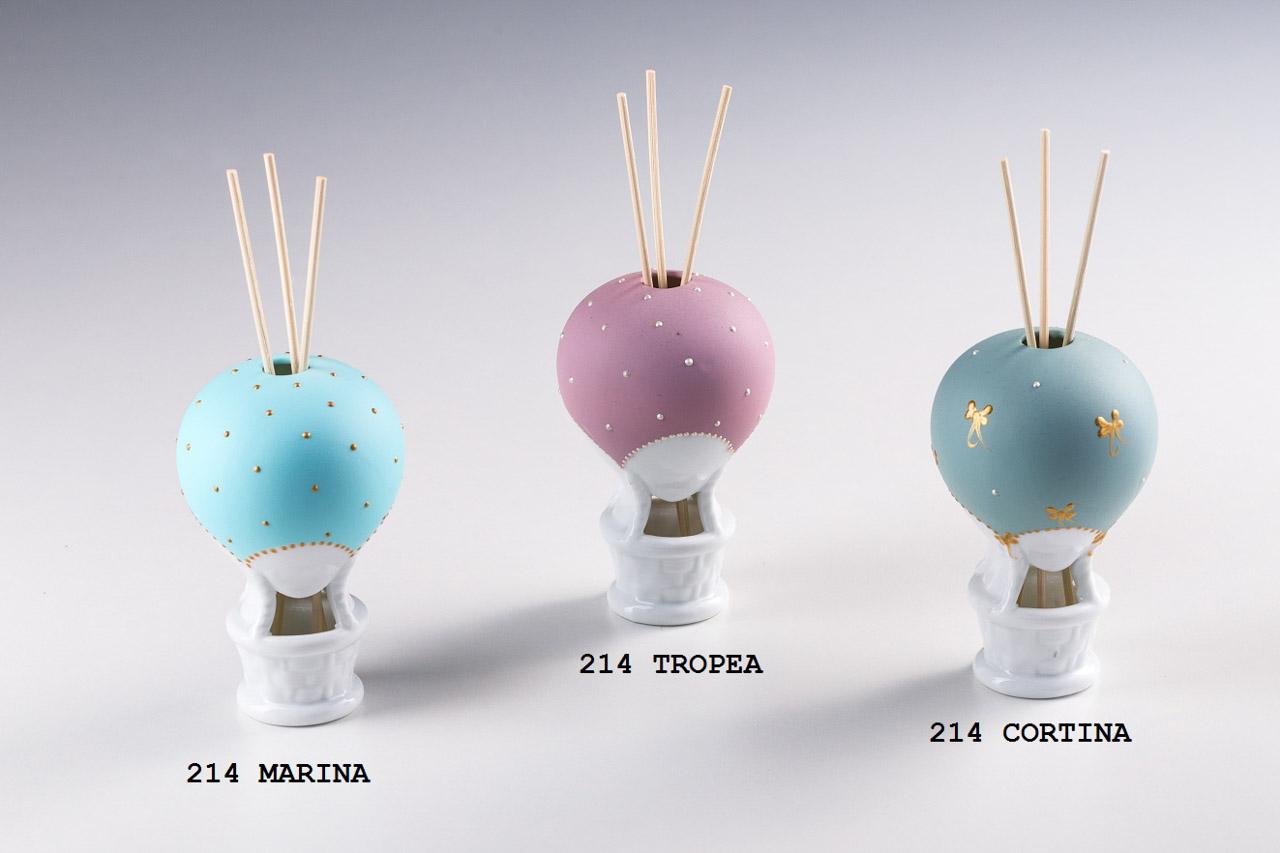 Sharon Italia - Mongolfiere profumatori - Collezione 2020 - Porcellana Decorata a mano - profumatori ambiente - Profumatore Ambiente-28