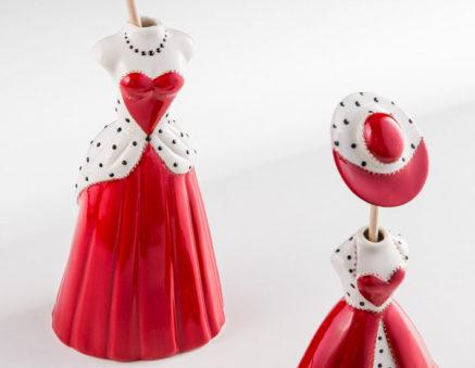 Sharon Italia - Le Dame - Collezione 2020 - Porcellana Decorata a mano - profumatori ambiente - Profumatore Ambiente