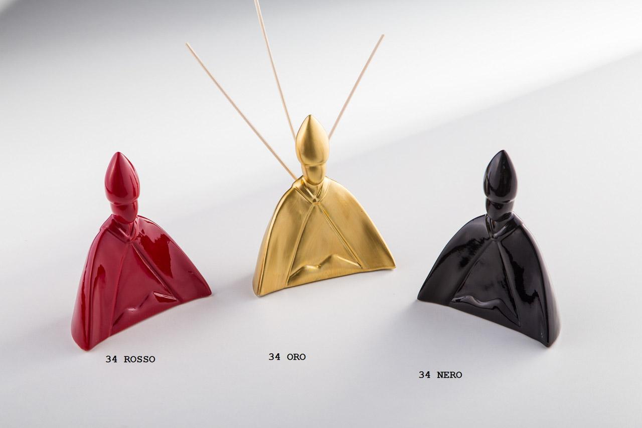Sharon Italia - San Gennaro - Collezione 2020 - Porcellana Decorata a mano - profumatori ambiente - Profumatore Ambiente